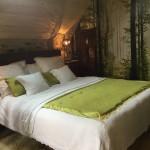 Chambres d'hôtes Conques, Les Grangettes, chambre du Levant, chambre de charme, calme et authenticité en plein nature