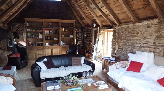 Un nouvel espace de détente et de convivialité dans cette ancienne Grange à foin
