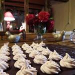 Les Grangettes dîner en table d'hôtes meringues