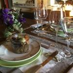 Les Grangettes dîner en table d'hôtes parfait d 'agneau