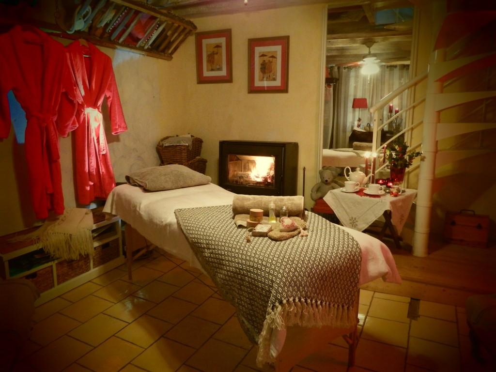 les grangettes chambres d'hôtes conques massage bien être