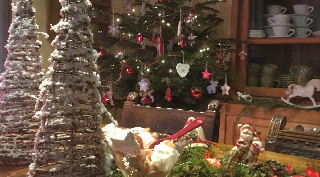 Noël aux Grangettes Chambres d'hôtes Table d'Hôtes calme et authenticité