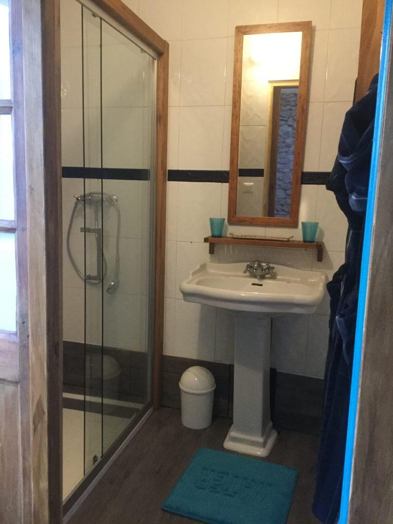 Chambre Magellan salle d'eau